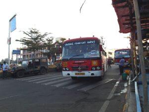 Автобус в Шрисайлам