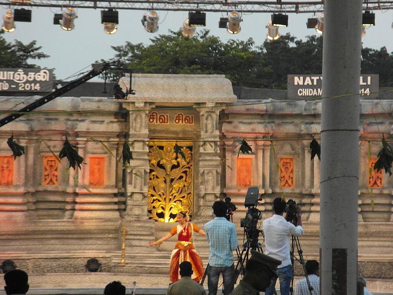 Фестиваль танца в Чидамбараме
