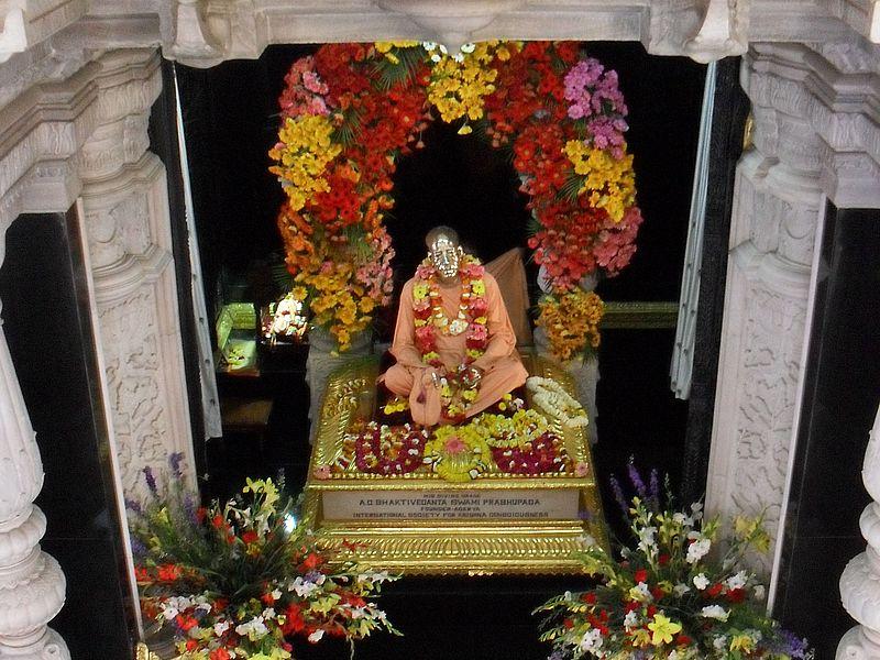 Самадхи Шрилы Прабхупады