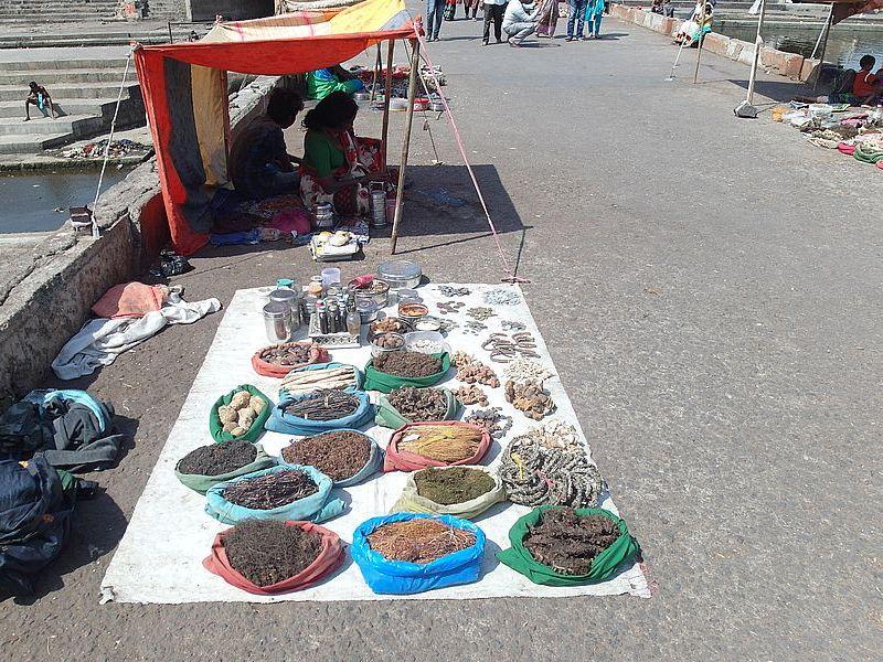 Рынок кореньев Нашик