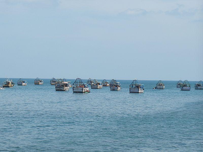 Рыбаки в Индийском океане
