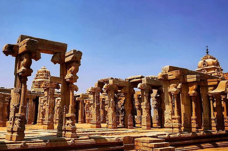 Лепакши: чудо храмового исскуства Индии