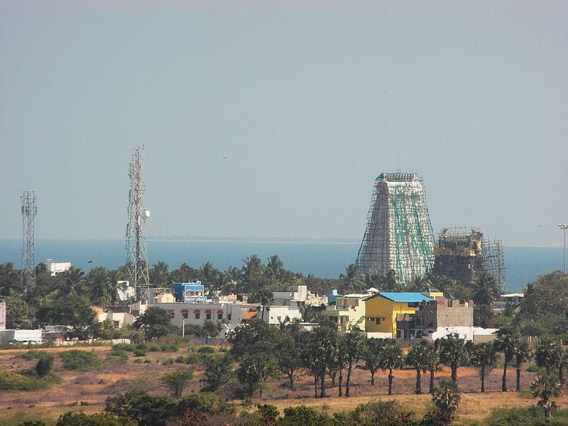 Гопура храма Раманатхасвами