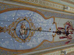 Потолок дворца Майсор