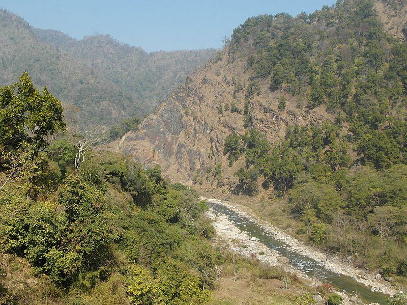 Ганга в Гималаях