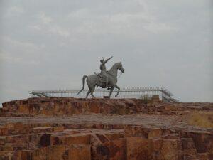 Статуя Рао Джодхи