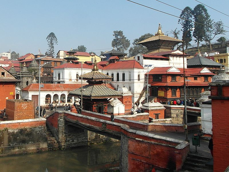 Пашупатинатх в Непале