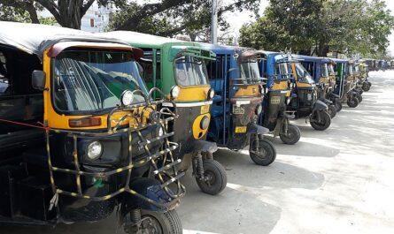Рикша в Индии