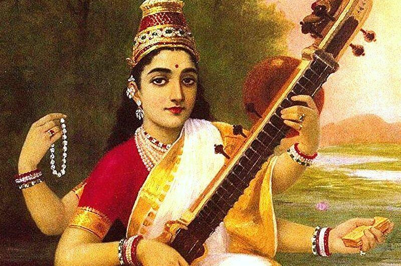 Где посмотреть картины художника Раджа Рави Варма?