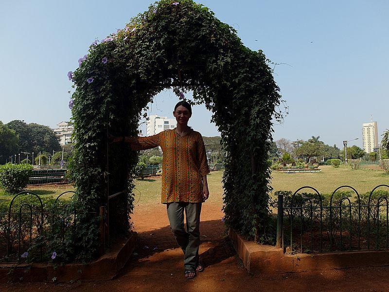 Прогулка в Висячие Сады Мумбаи