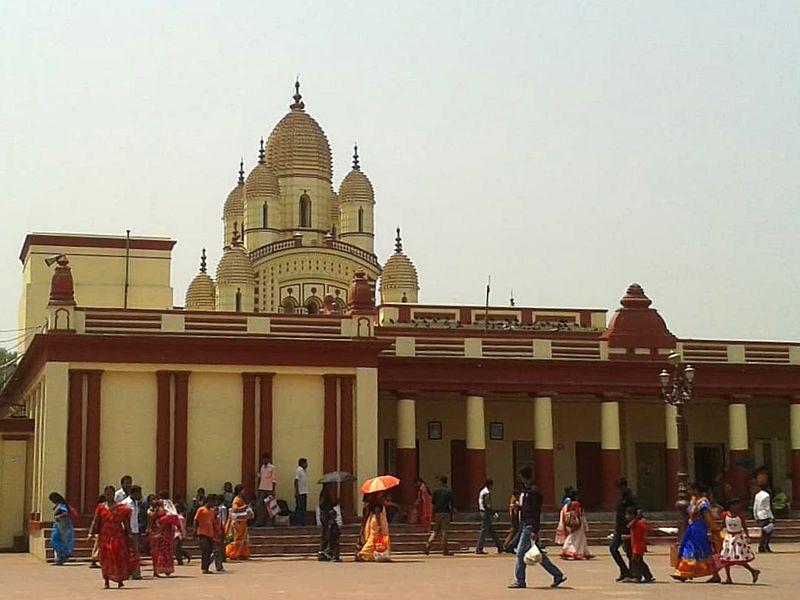 Вход в храм Кали Дакшинешвар