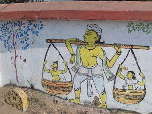 Город Пури в Индии