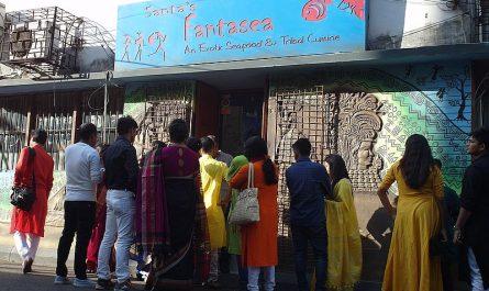 Ресторан в Калькутте