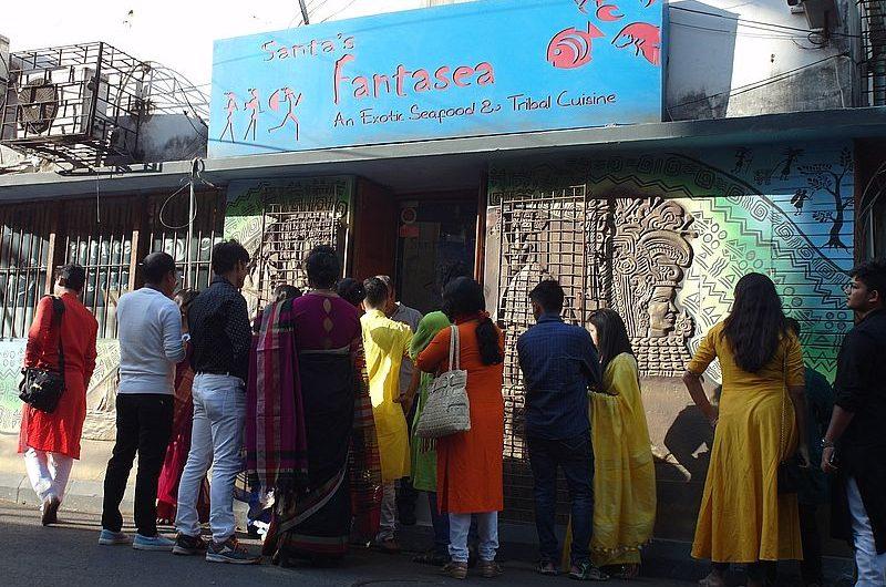 Самый модный ресторан в Калькутте