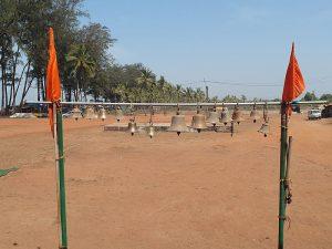 Колокольчики храм в Гоа