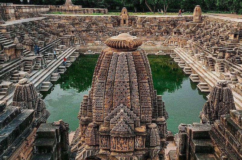 Храм Солнца Модхера (Гуджарат): красота и утонченность