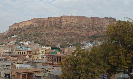 Мехрангарх крепость в Джодхпре