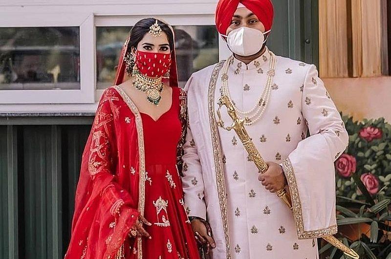 Маска невесты: новый свадебный тренд в Индии