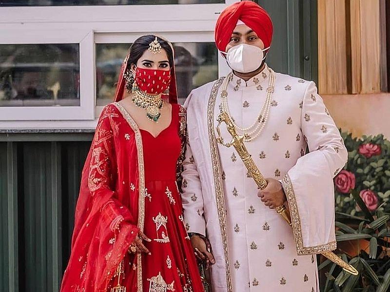 Свадьба в Индии времен коронавируса