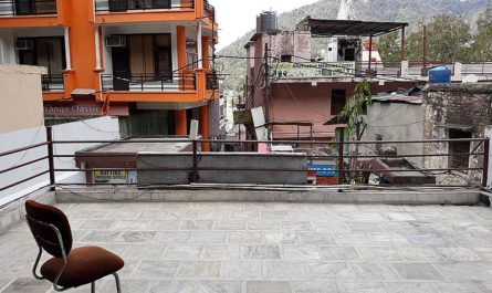 Вид с крыши Индия