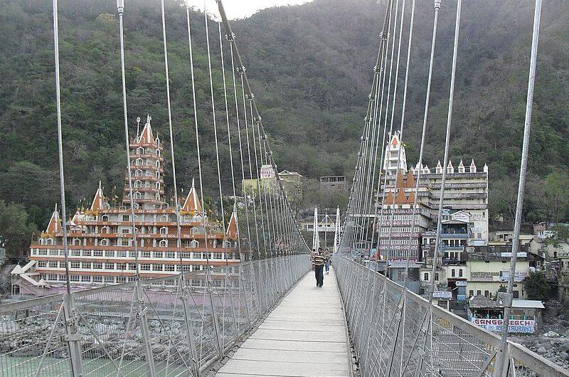 Мост Лакшманджула: сердце Ришикеша