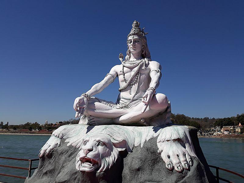 Шива в Ришикеше