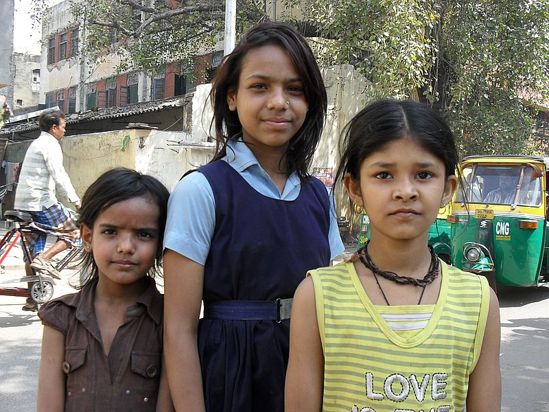 Девочки Индии