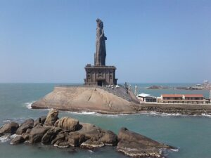 Остров со статуей Каньякумари
